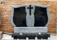 Двойной гранитный памятник №9