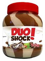 Шоколадная паста Duo SHOCK 750мл