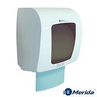 Механический диспенсер бумажных полотенец в рулонах MERIDA TOP MINI (серый), Канада