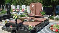 Двойной гранитный памятник №10