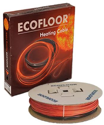 Теплый пол без стяжки под ламинат, кафель 6.9-9.2 м.кв 1100 Вт. Тонкий кабель Fenix. Гарантия 15 лет.