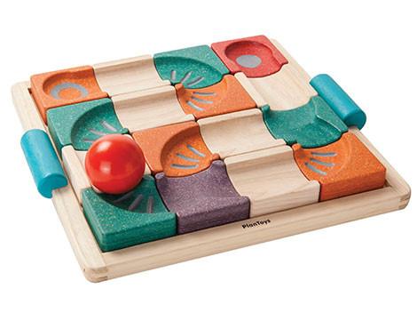 Развивающая игра Plan Тoys - Балансирующий лабиринт с шариком