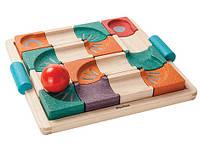 Развивающая игра Plan Тoys - Балансирующий лабиринт с шариком, фото 1