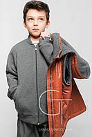 Куртка-двойка для мальчика: жилет+толстовка