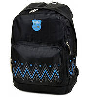 Городской рюкзак с орнаментом Lanpad 1500 черный, фото 1