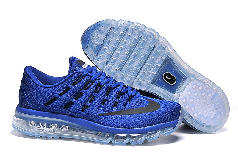 0fdd3052 Кроссовки мужские Nike Air Max 2016 Royal Blue синие топ реплика -  Интернет-магазин обуви