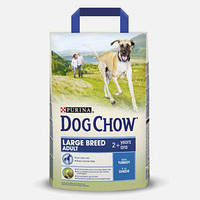 Purina Dog Chow Large Breed 14 кг с индейкой и рисом - корм для собак крупных пород