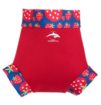 Трусики для плавания Konfidence NeoNappy, Цвет: Red/ Strawberry, M/ 6-9 мес, фото 2