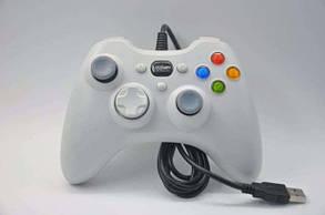 Джойстик 360 USB PC для ПК проводной 360 белый, фото 2