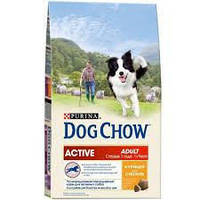 Dog Chow Active chicken (курица) 2,5 кг, корм для активных собак живущих на улице