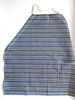Зеленый джинсовый фартук