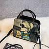 Модная сумочка с рисунком девушки, фото 6
