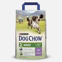 Purina Dog Chow Adult Lamb 14 кг сухой корм с ягненком , гипоаллергенный