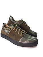 Мужские кроссовки с натуральной кожи