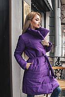 Куртка-пальто теплая
