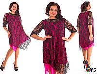 Платье женское большие размеры Г03408, фото 1