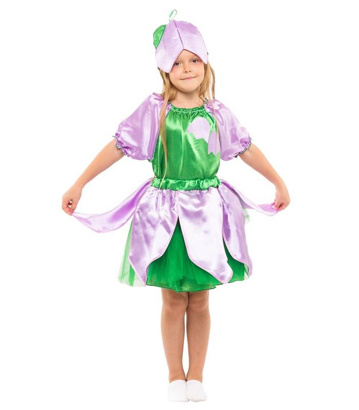 Карнавальный костюм Колокольчика девочка весенний на праздник Весны (5-10 лет)