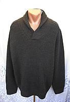 Новый теплый свитер F&F акрил шерсть 3X 58-60 C54N