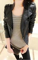 Женская кожаная куртка. Модель 2119, фото 3