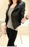 Женская кожаная куртка. Модель 2119, фото 4