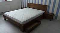 Кровать Левис .В отличие от Лелии изголовье сплошное,кровать выглядит максимально внушительно и основательно., фото 1