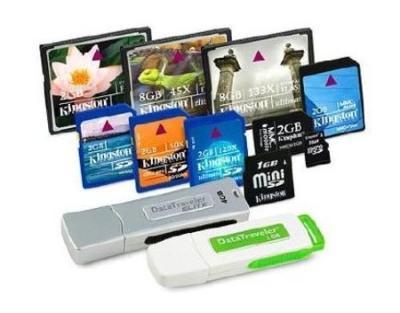 Восстановление данных с флеш-памяти (USB и SSD накопители, карты памят