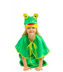 Карнавальний костюм Жаби для дівчинки весняне свято Весни (4-8 років)