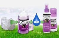 Дезодорант кристал - создает на коже невидимую защитную пленку, которая не дает размножаться бактериям / 120 г