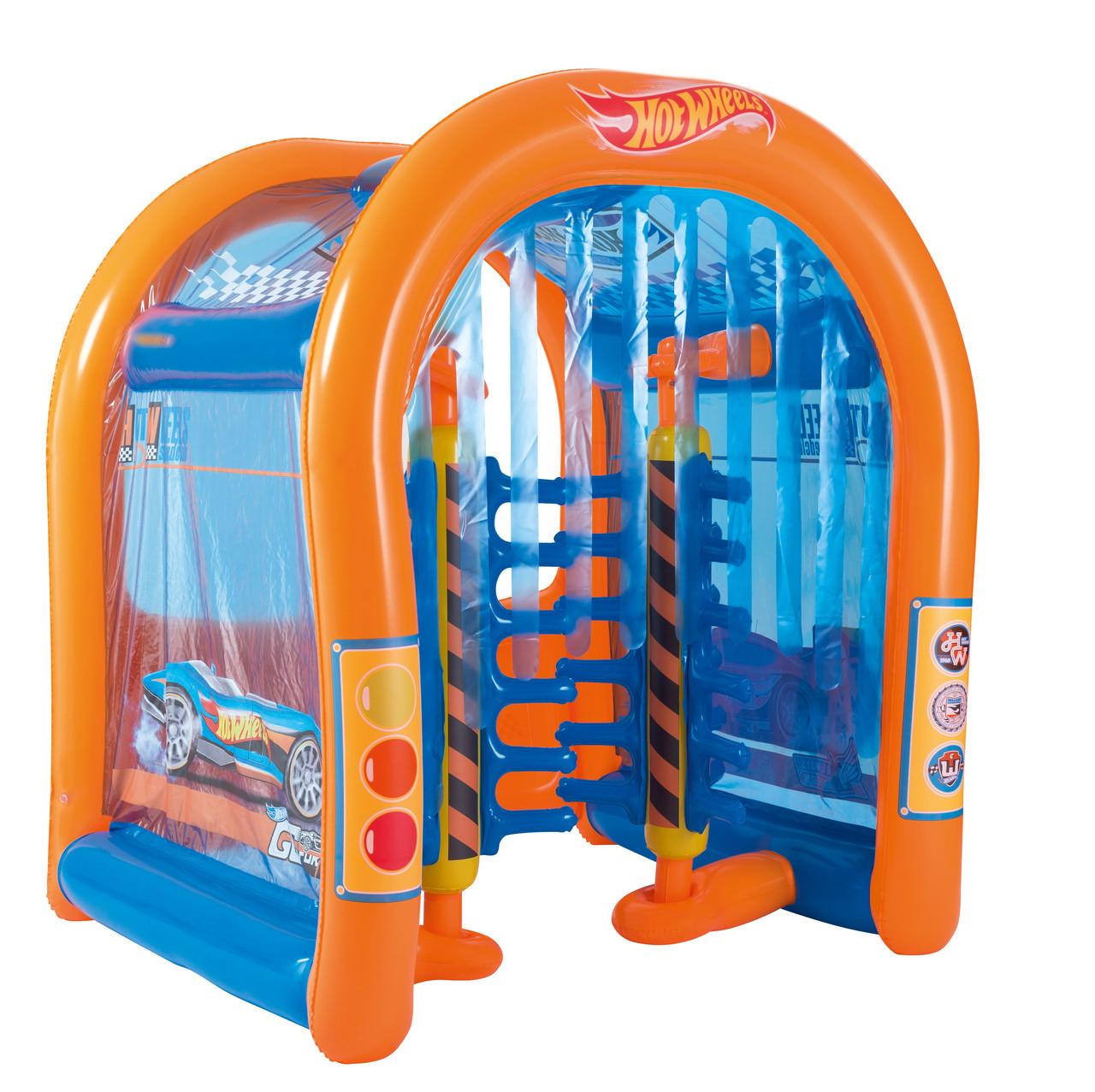 Игровой центр Автомойка Hot Wheels с брызгалкой , 93406