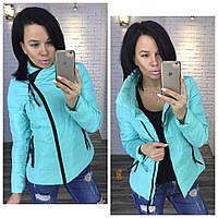 Женская короткая теплая куртка на синтепоне. Материал: плащевка, синтепон 100, подкладка. Размер с,м,л.