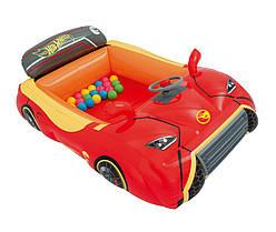 Игровой центр Машина Hot Wheels с 25 шариками ,  93404