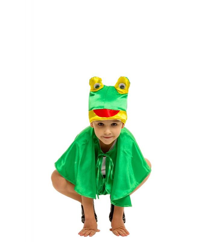Карнавальный костюм Лягушки Жабки для мальчика весенний на праздник Весны (4-8 лет)