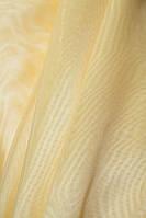 Тюль  муар ,  высота  2.8 м,  Турция , цвет желтый