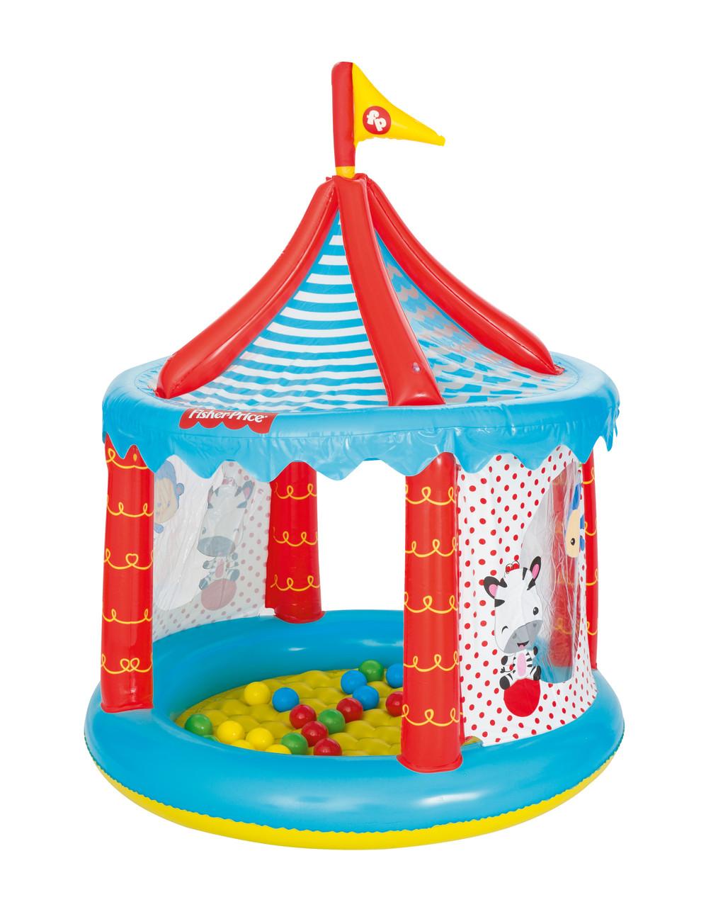 Игровой центр Цирк с 25 шариками, 104х137 см,93505