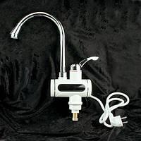 Цифровой мгновенный водонагреватель на кран Instantaneous water heater digital, фото 1