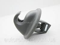Петля крепления козырька солнцезащитного на Рено Логан + Сандеро 2004-2012 Renault (оригинал) - 7700424981