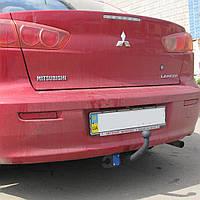 Фаркоп на Mitsubishi Lancer 10 (с 2007--) Митсубиси Лансер 10 X