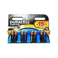 Батарейка Duracell Turbo LR-06 АА по 8 штуки