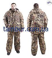 Зимний костюм для рыбалки и охоты, таслан принт (элитный)