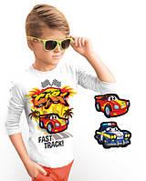 """Лонгслив и 2 сменных картинки """"Star Cars""""; 3, 4, 5, 6-7, 8-9, 10-11, 12-13 лет, фото 1"""