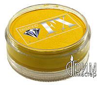 Аквагрим Diamond FX основной жёлтый 90 g