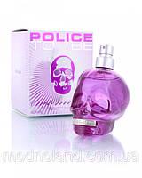 Женская туалетная вода Police To Be Woman 125 ml (Полис Ту Би Вумэн)