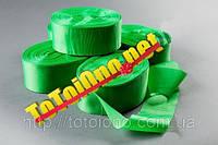 Лента шелк зеленая