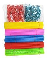 Качество! Палочки с держателями для Фольгированных шаров, Диаметр 6 см, Разные цвета