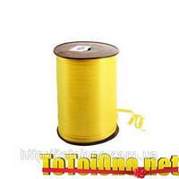 Тесьма желтая 0.5 см в катушках 500 метров