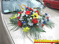 Комплект для украшения свадебной машины №5