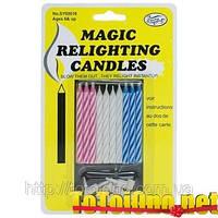 Магические свечи не задуваются