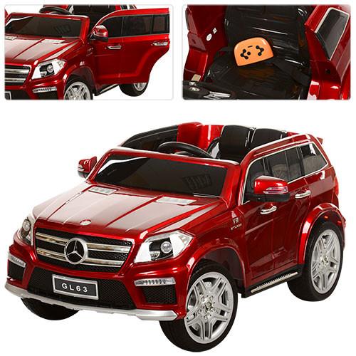 Детский электромобиль   М 3122 EBRS-3: 2.4G, EVA, 90W -Бордовый-Покраска- купить оптом