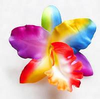 Заколка Орхидея/бижутерия/цвет мульти