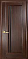 Межкомнатные двери Новый Стиль  Делла черное стекло, фото 3